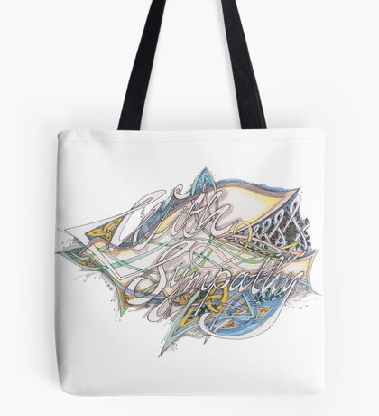 With Sympathy Tote Bag