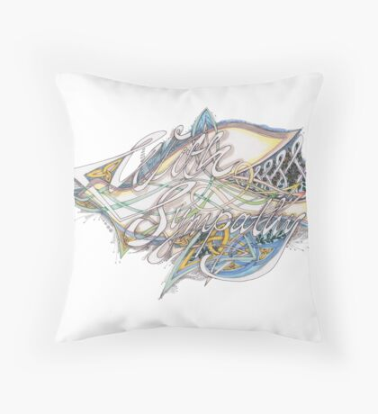 With Sympathy Throw Pillow