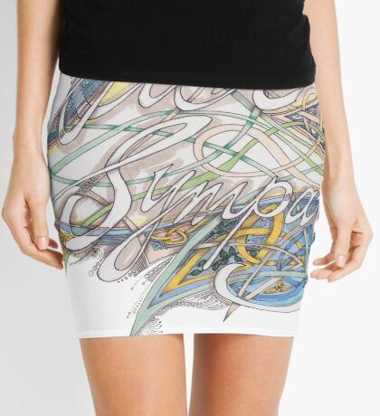 With Sympathy Mini Skirt
