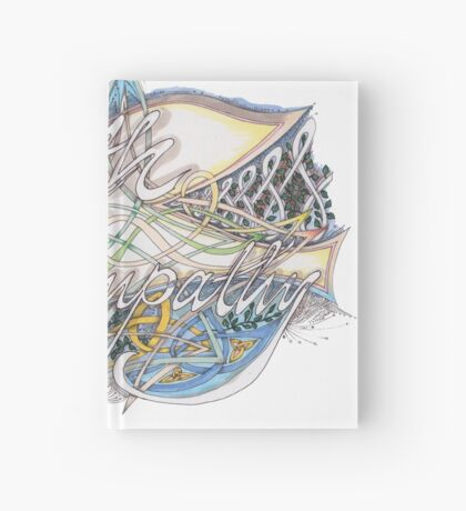 With Sympathy Hardcover Journal