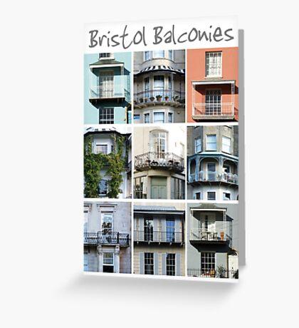 Bristol Balconies Greeting Card