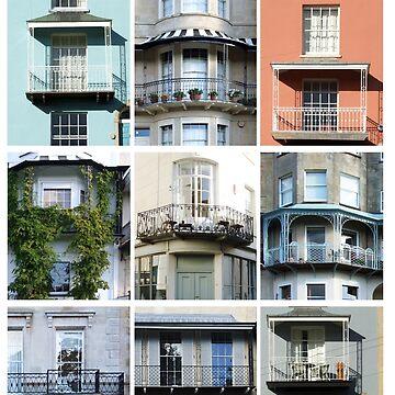 Bristol Balconies by SuePorter