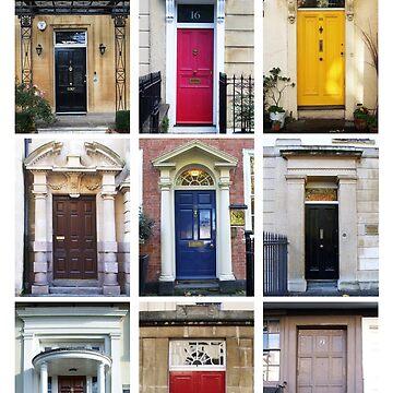 Doors of Bristol by SuePorter