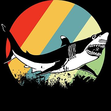 Shark sea creatures by GeschenkIdee