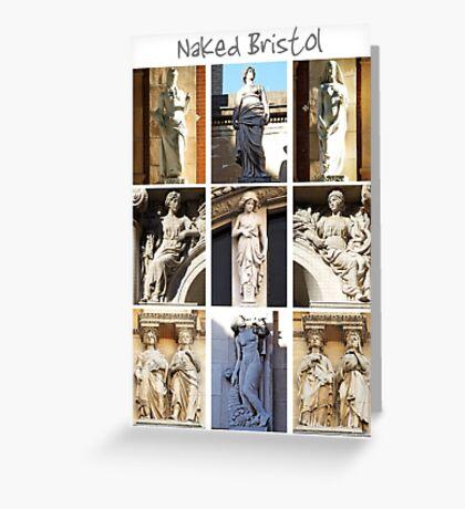 Naked Bristol Greeting Card