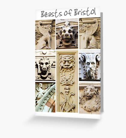 Beasts of Bristol Greeting Card