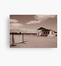 Greetings From Orla, Tx. Canvas Print