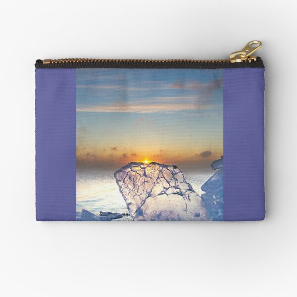 At the Crack of Dawn Zipper Pouch