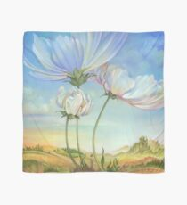 In the Half-shadow of Wild Flowers Scarf