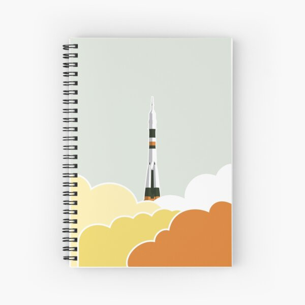 Space: Lift Off Spiral Notebook