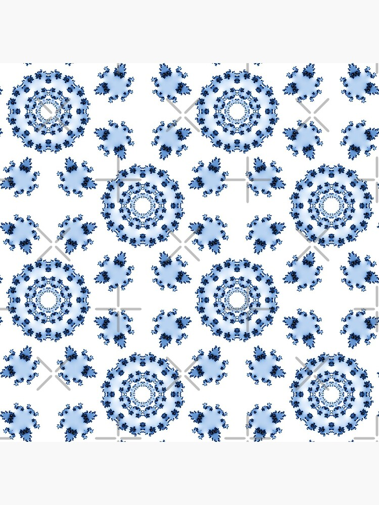 Fractal Azulejo by nadyanadya