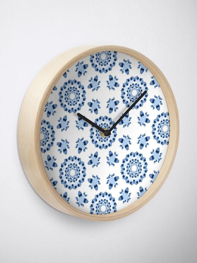 Alternate view of Fractal Tiles Clock