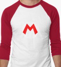 Super Mario Mario Icon Men's Baseball ¾ T-Shirt