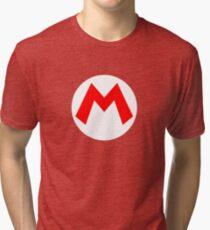 Super Mario Mario Icon Tri-blend T-Shirt