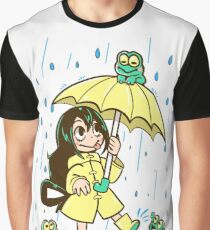 Best Frog Girl Graphic T-Shirt