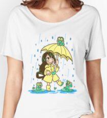 Best Frog Girl Women's Relaxed Fit T-Shirt