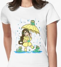 Best Frog Girl Women's Fitted T-Shirt