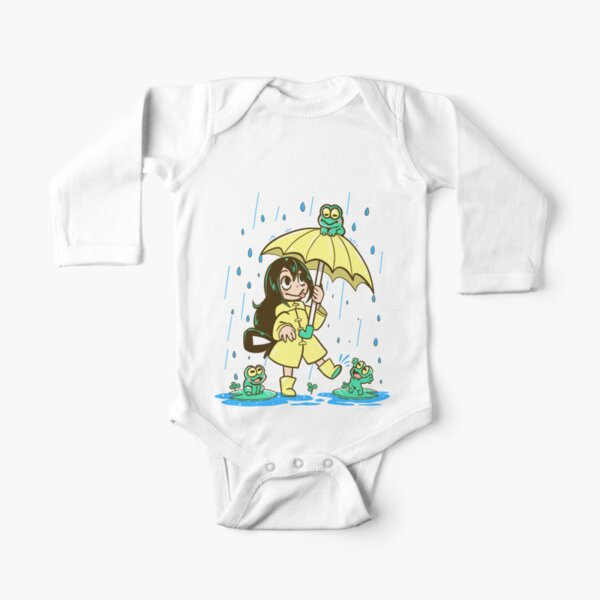 Best Frog Girl Long Sleeve Baby One-Piece