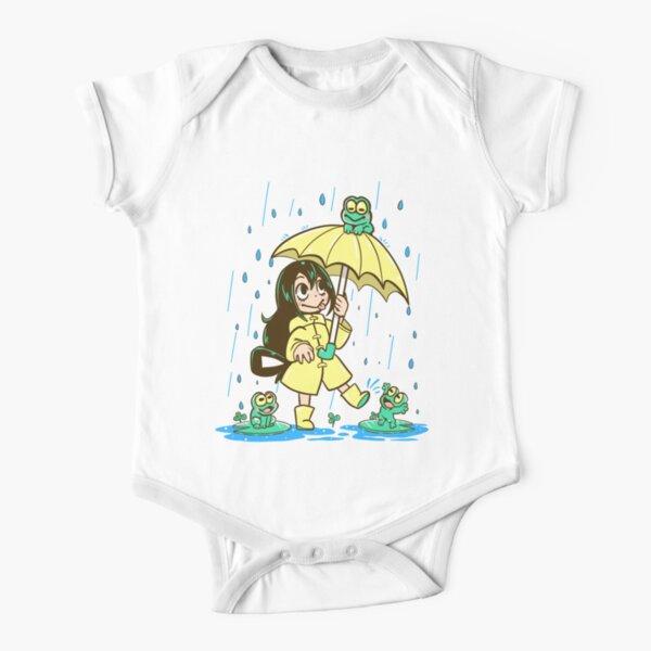 Best Frog Girl Short Sleeve Baby One-Piece