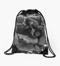 Roses Are Gray Drawstring Bag