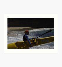 Surf and Turf Art Print