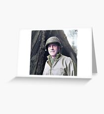 Major General Leonard Townsend Gerow Greeting Card