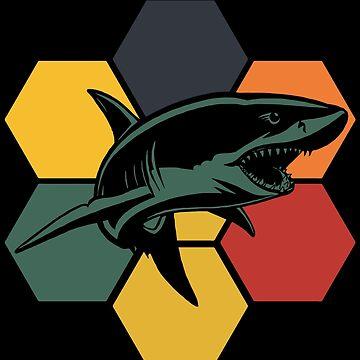Shark fin by GeschenkIdee