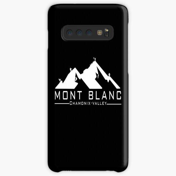 The Mont Blanc Chamonix Valley Samsung Galaxy Snap Case