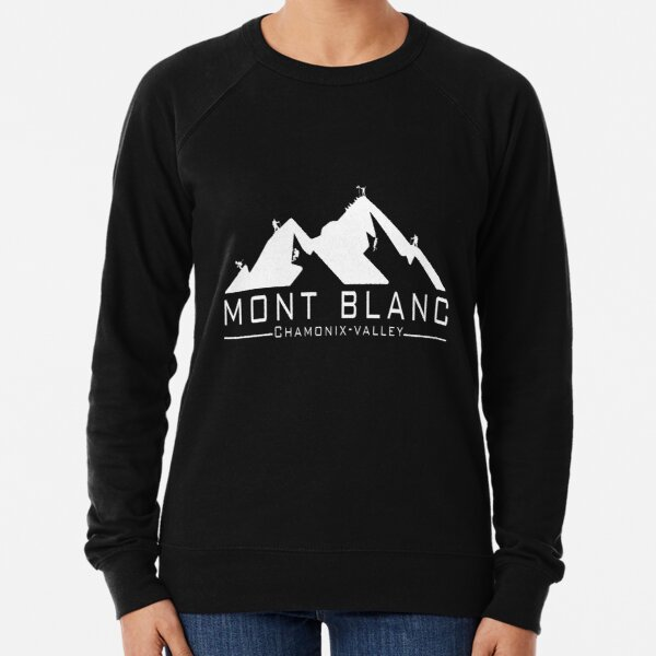 The Mont Blanc Chamonix Valley Lightweight Sweatshirt