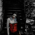 Vampire on the stairs by David Knight