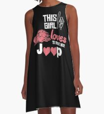 This Girl Loves To Drive Her Jeep T-shirt A-Line Dress