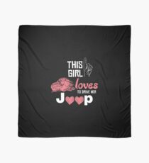This Girl Loves To Drive Her Jeep T-shirt Scarf