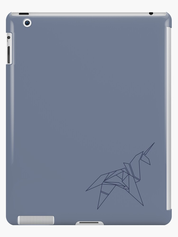 Unicorn Origami Ipad Cases Skins By Deathspell Redbubble