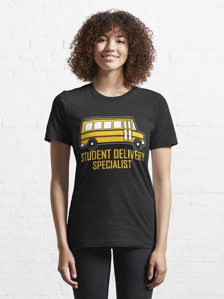 Alternative Ansicht von Student Delivery Specialist - School Bus Driver Gift Essential T-Shirt