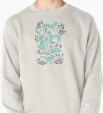Cheetah Collection – Mint & Black Palette Pullover