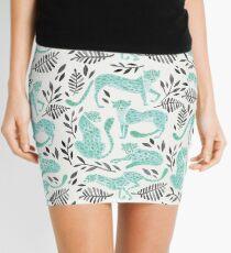 Cheetah Collection – Mint & Black Palette Mini Skirt