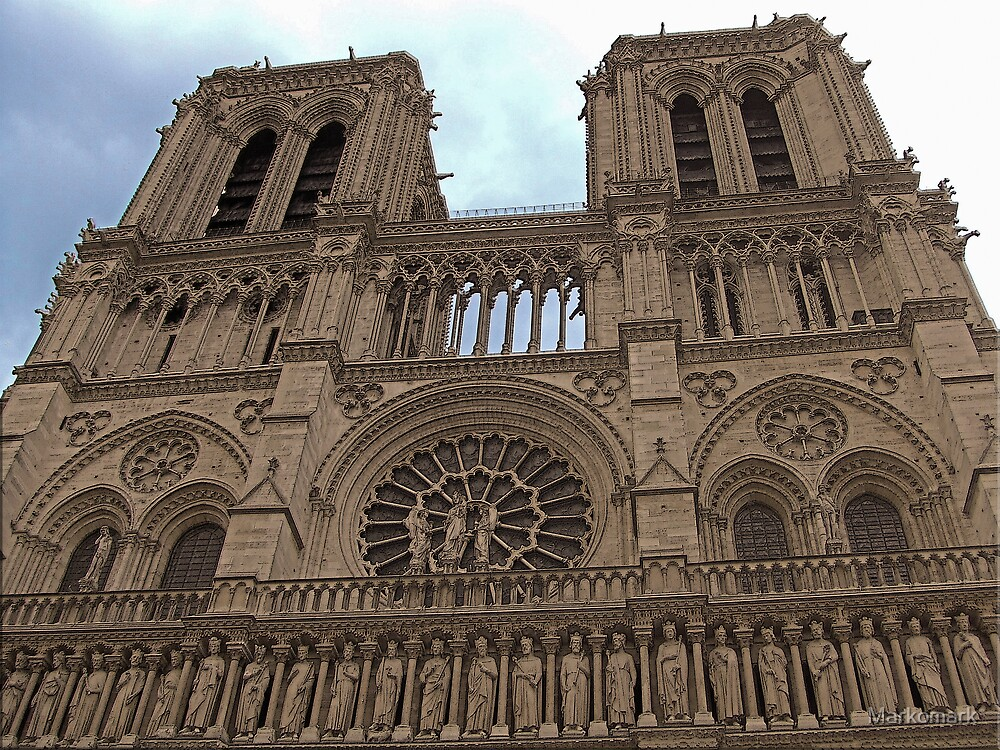 Notre-Dame Cathedral by Mark Sellers