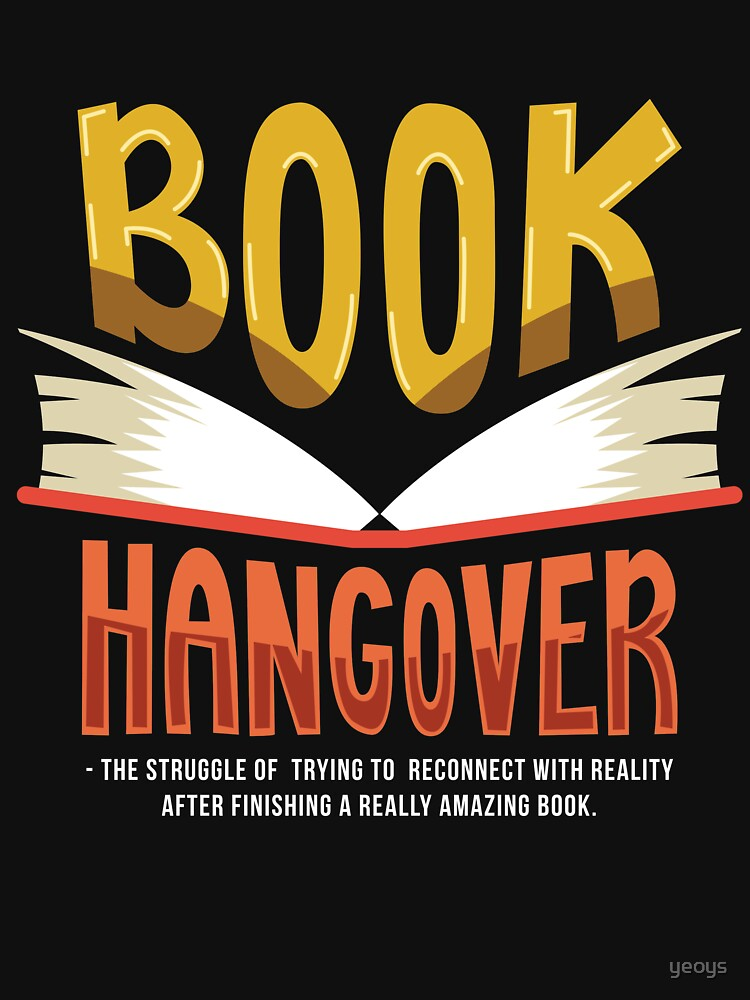 Book Hangover - Funny Literature Pun Gift von yeoys