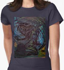 Green Demon Women's Fitted T-Shirt