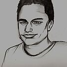 Ben drawing by Andrew Hennig