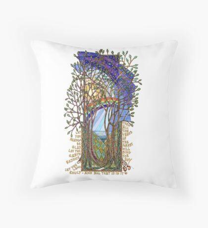 Sing for Joy - Psalm 86 Throw Pillow