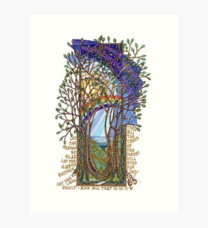 Sing for Joy - Psalm 86 Art Print