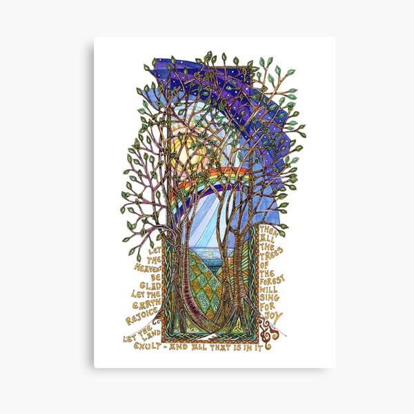 Sing for Joy - Psalm 86 Canvas Print