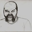 David drawing by Andrew Hennig