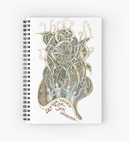 Let Our Voices Rise Like Incense Spiral Notebook
