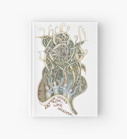Let Our Voices Rise Like Incense Hardcover Journal
