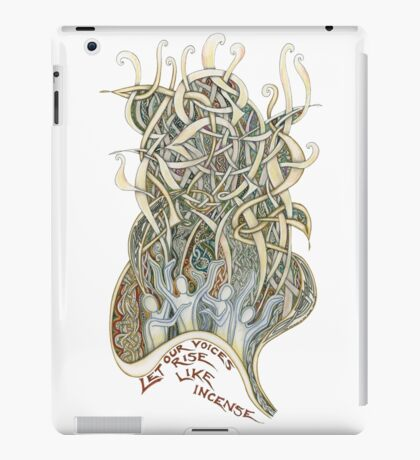 Let Our Voices Rise Like Incense iPad Case/Skin