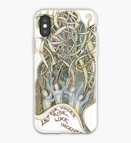 Let Our Voices Rise Like Incense iPhone Case