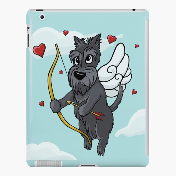 Cupid Scottish Terrier iPad Snap Case