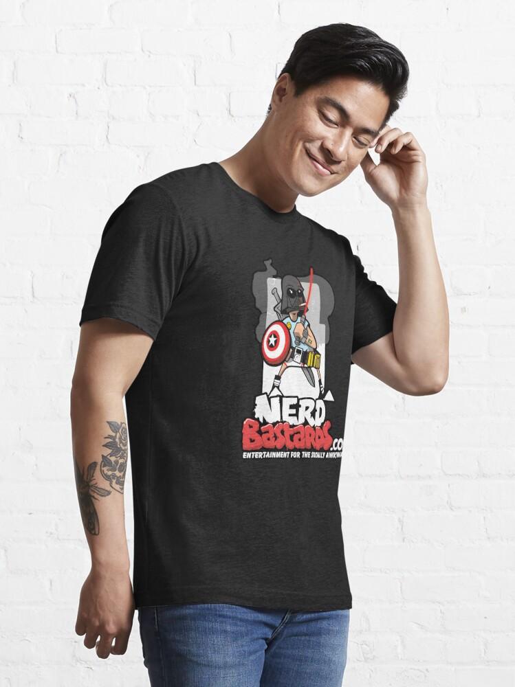 Alternate view of THE Nerd Bastard...  Essential T-Shirt